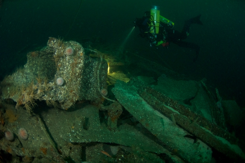 Wreckage of The Clan MacKinlay