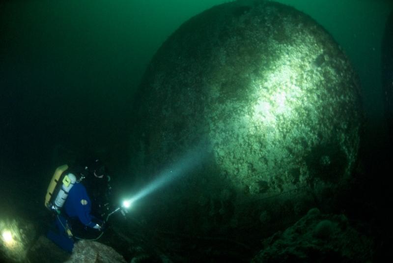 Boiler, HMS Grive, 65m